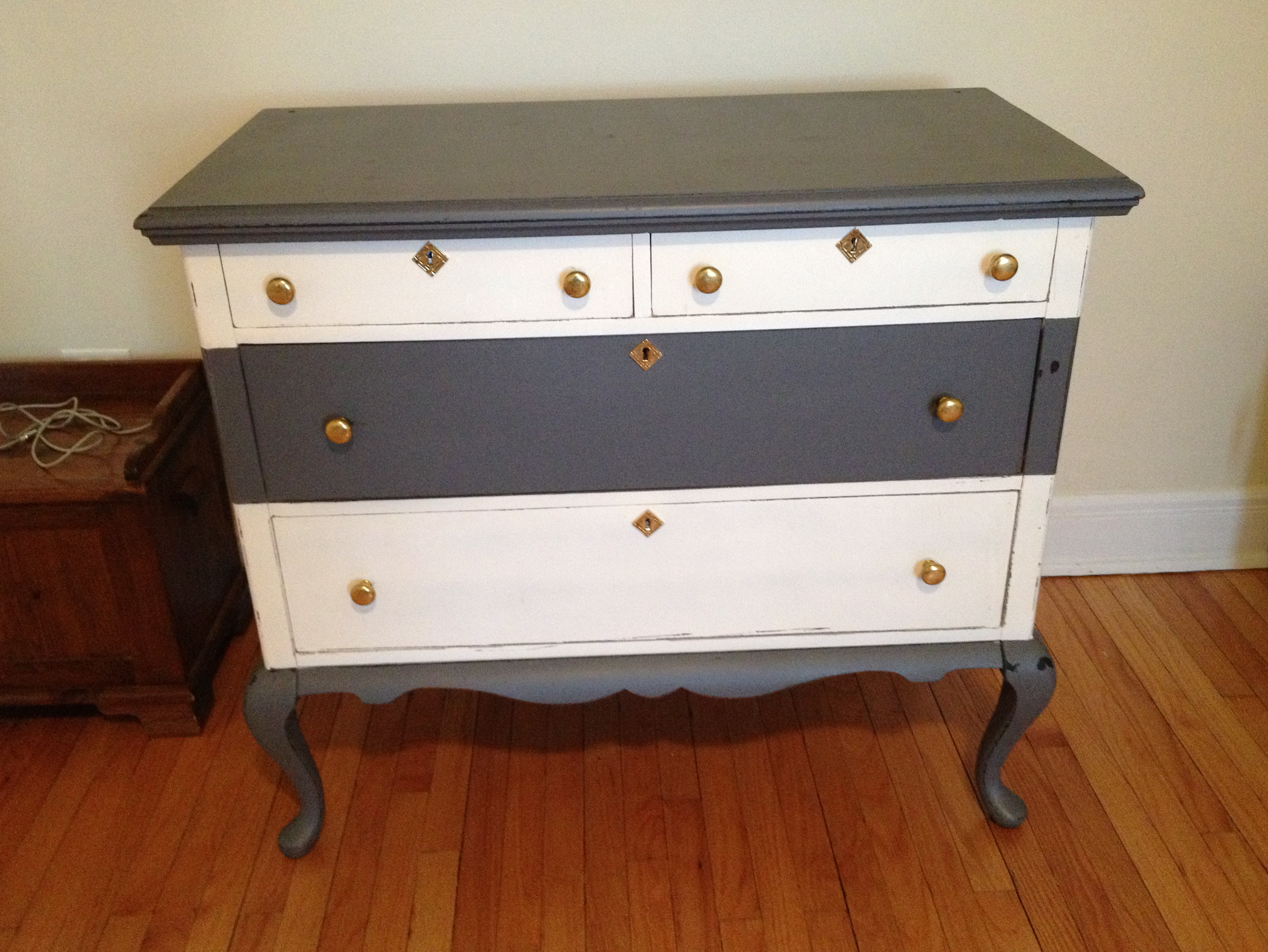 Antique Dresser Changing Table