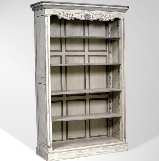 Antique White Bookcase Furniture