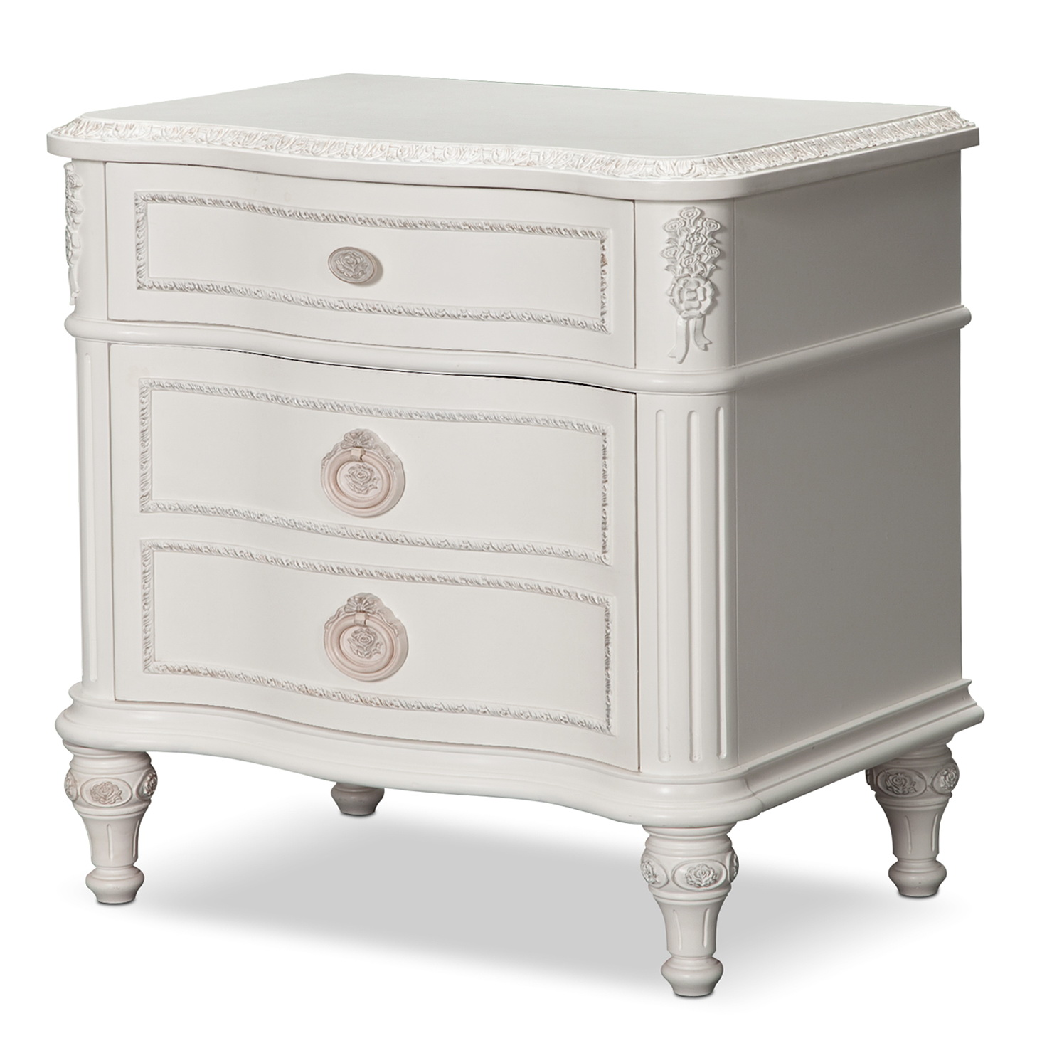 Antique White Nightstands Sale