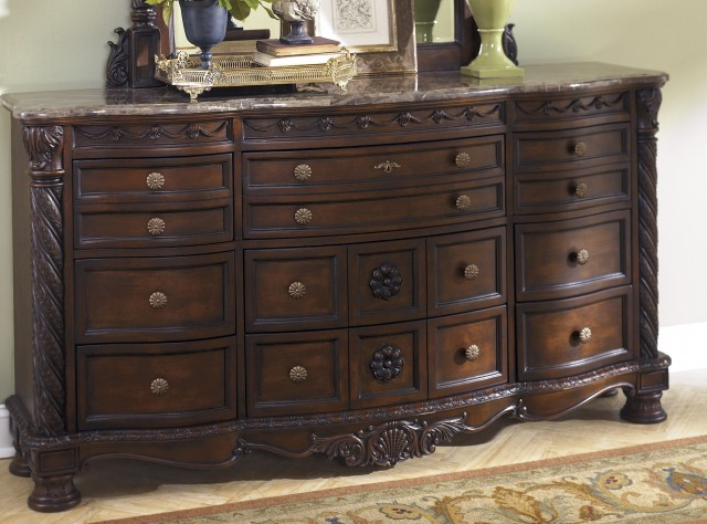 Ashley Furniture Marble Top Dresser
