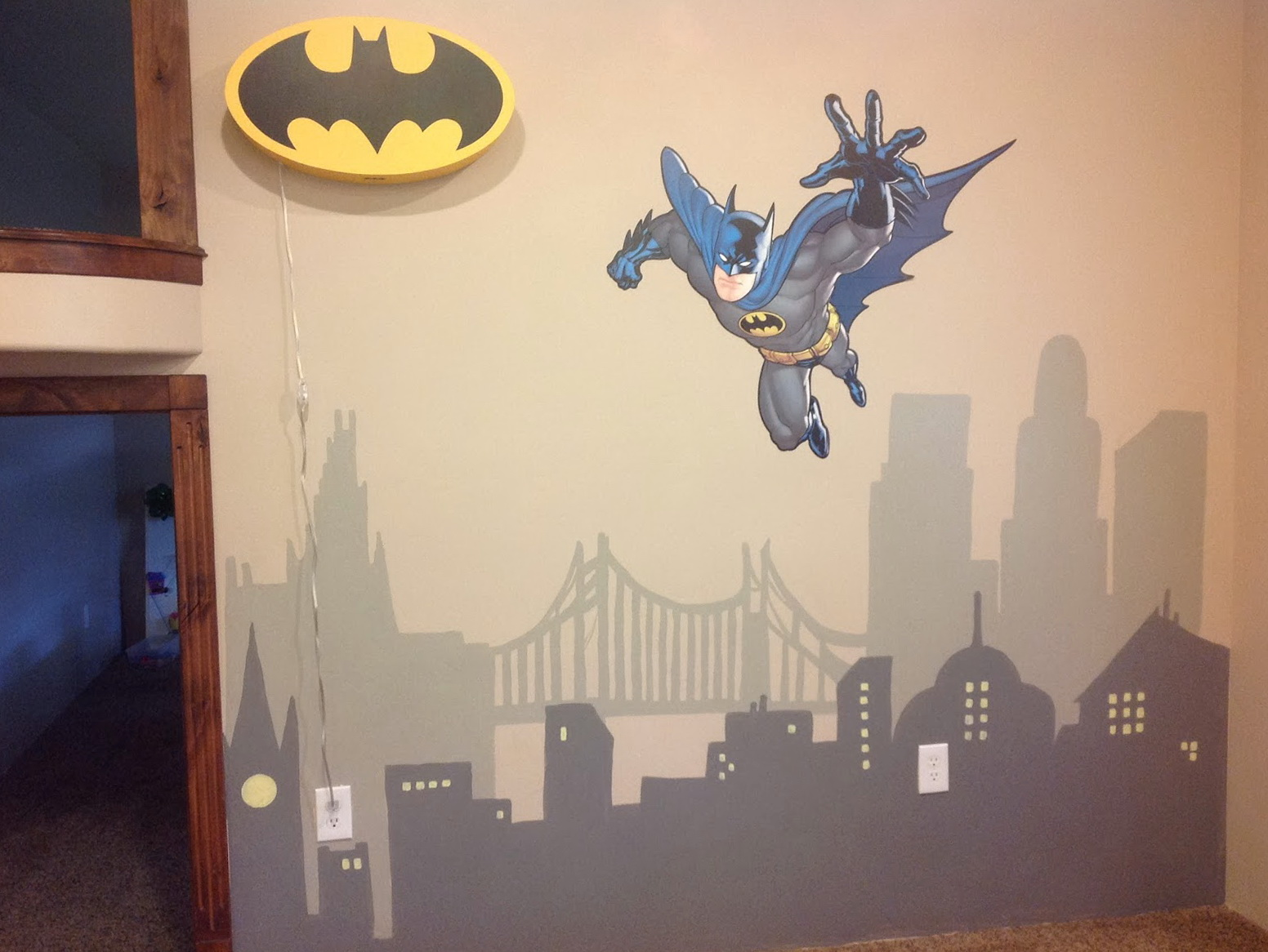 Batman Wall Art Kids