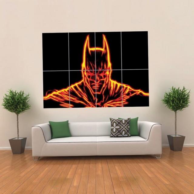 Batman Wall Art Light