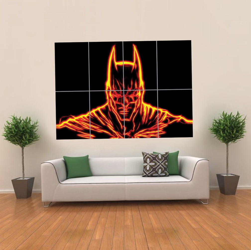 Batman Wall Art Light