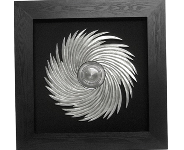 Black And Silver Wall Art