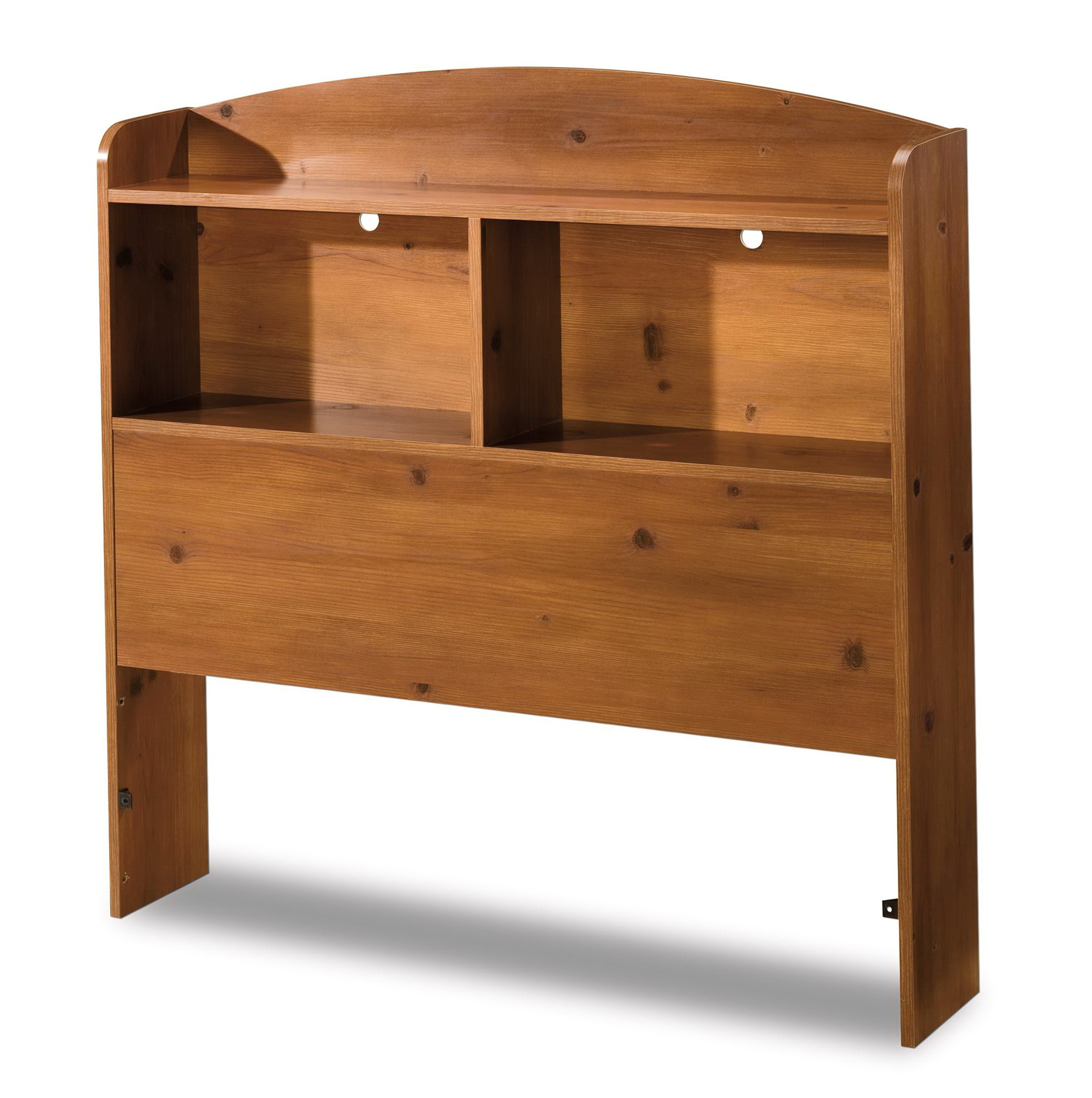 Bookcase Headboard Queen Solid Wood