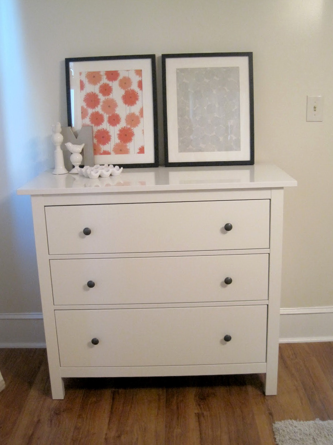 Brimnes Three Drawer Dresser