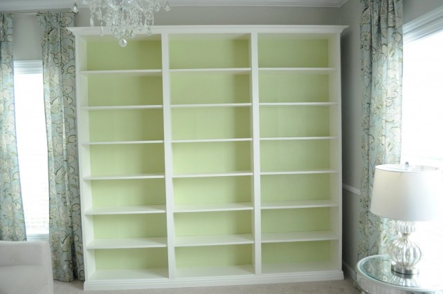 Built In Bookcase Diy