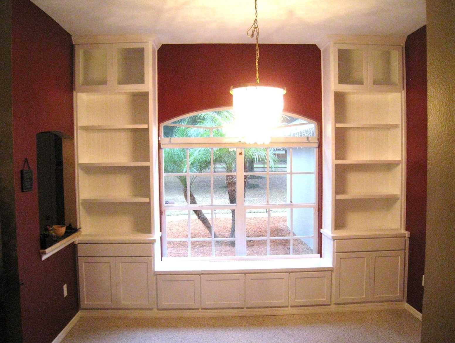 Built In Bookcases With Window Seat