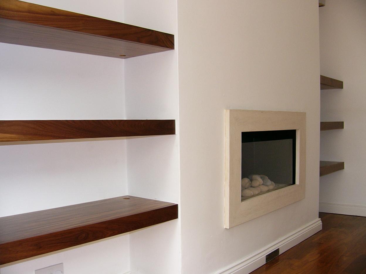 Built In Wall Shelves Plans