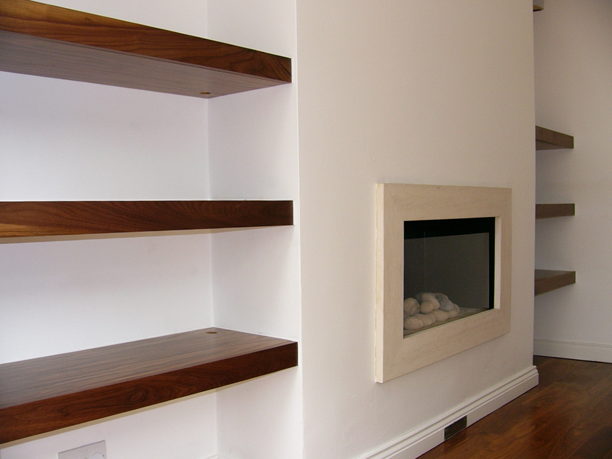 Built In Wall Shelving Ideas