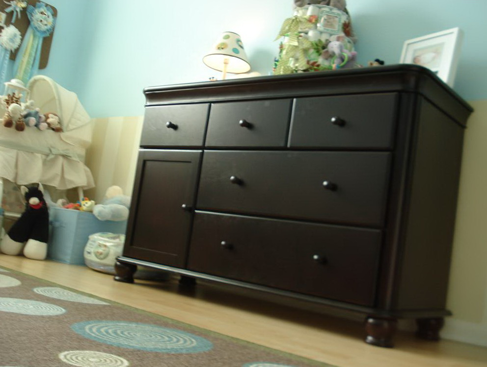 Changing Table Dresser Espresso