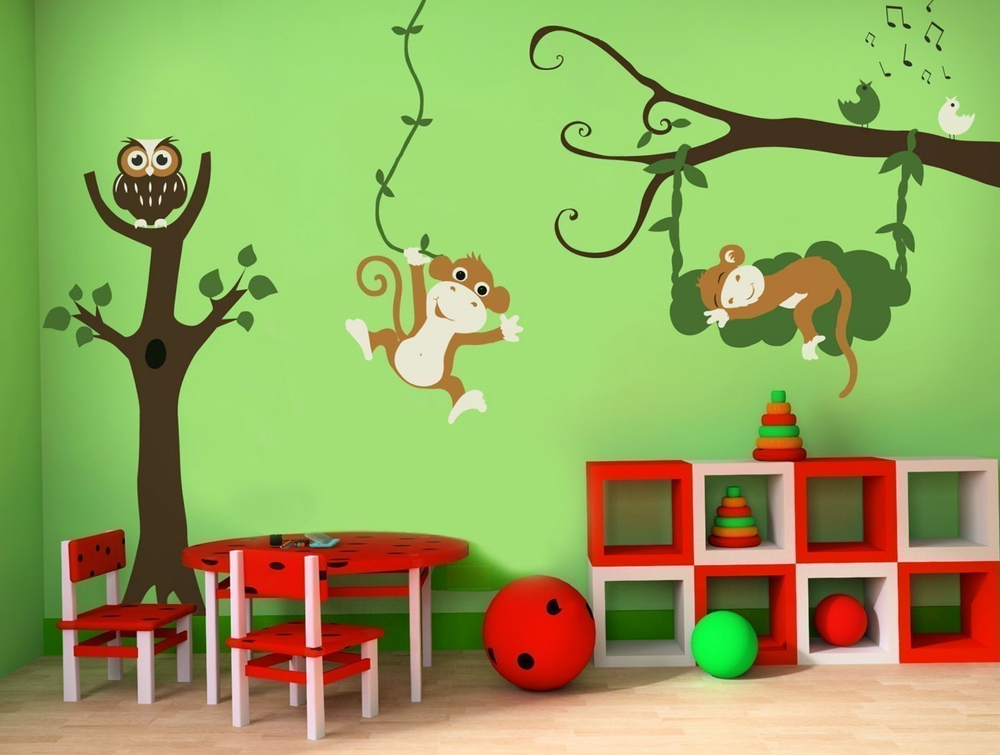 Childrens Wall Art Stickers