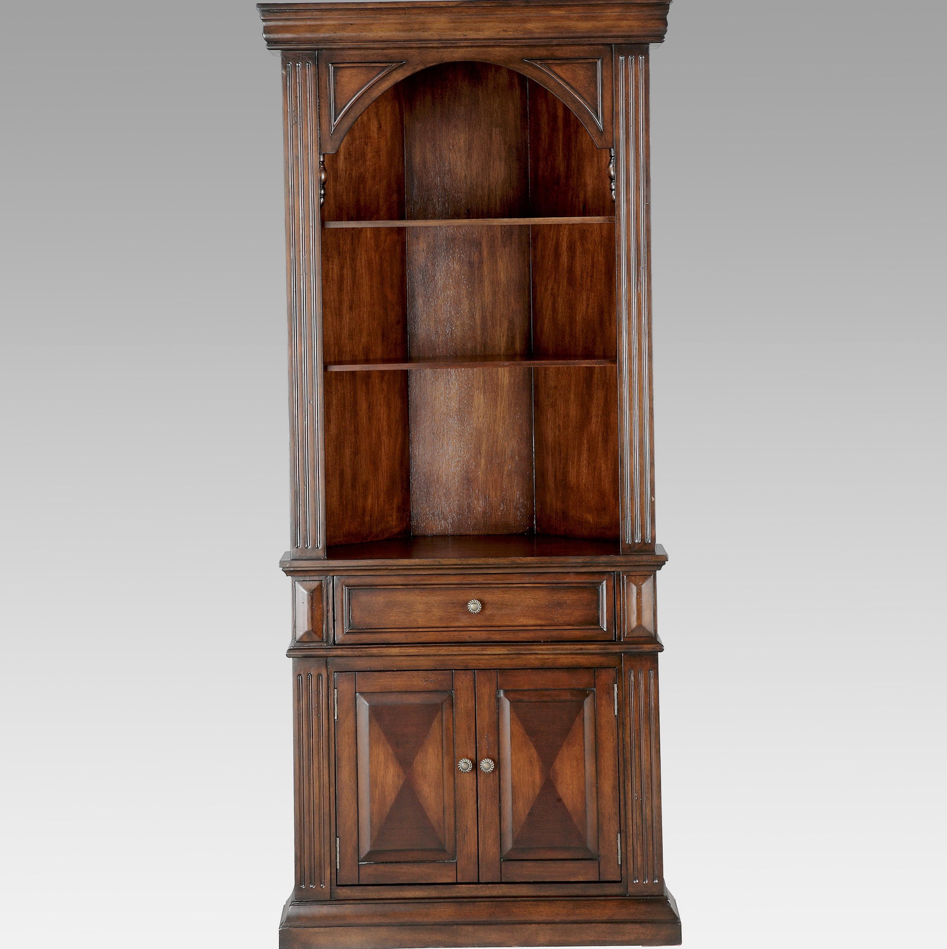 Corner Bookcase With Doors