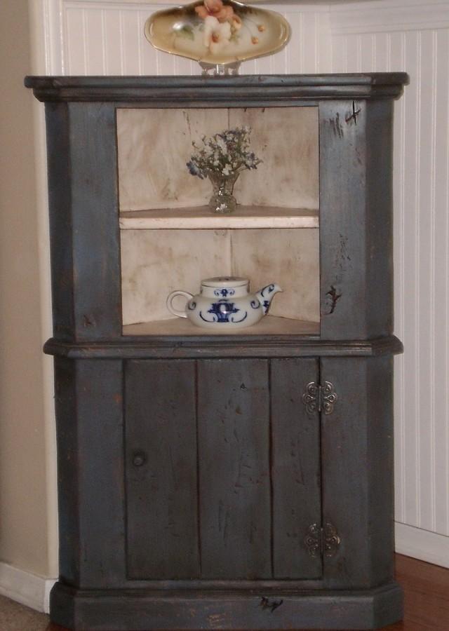 Corner Medicine Cabinet Vintage
