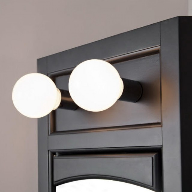 Corner Medicine Cabinet With Lights