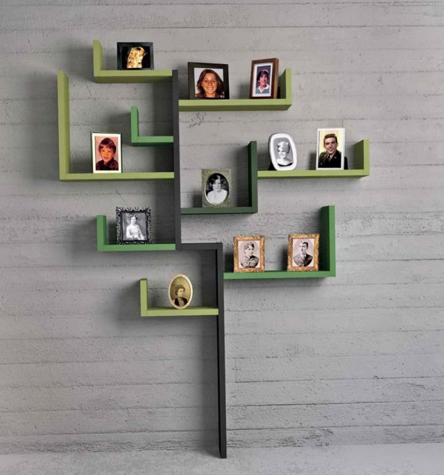 Creative Wall Shelving Ideas