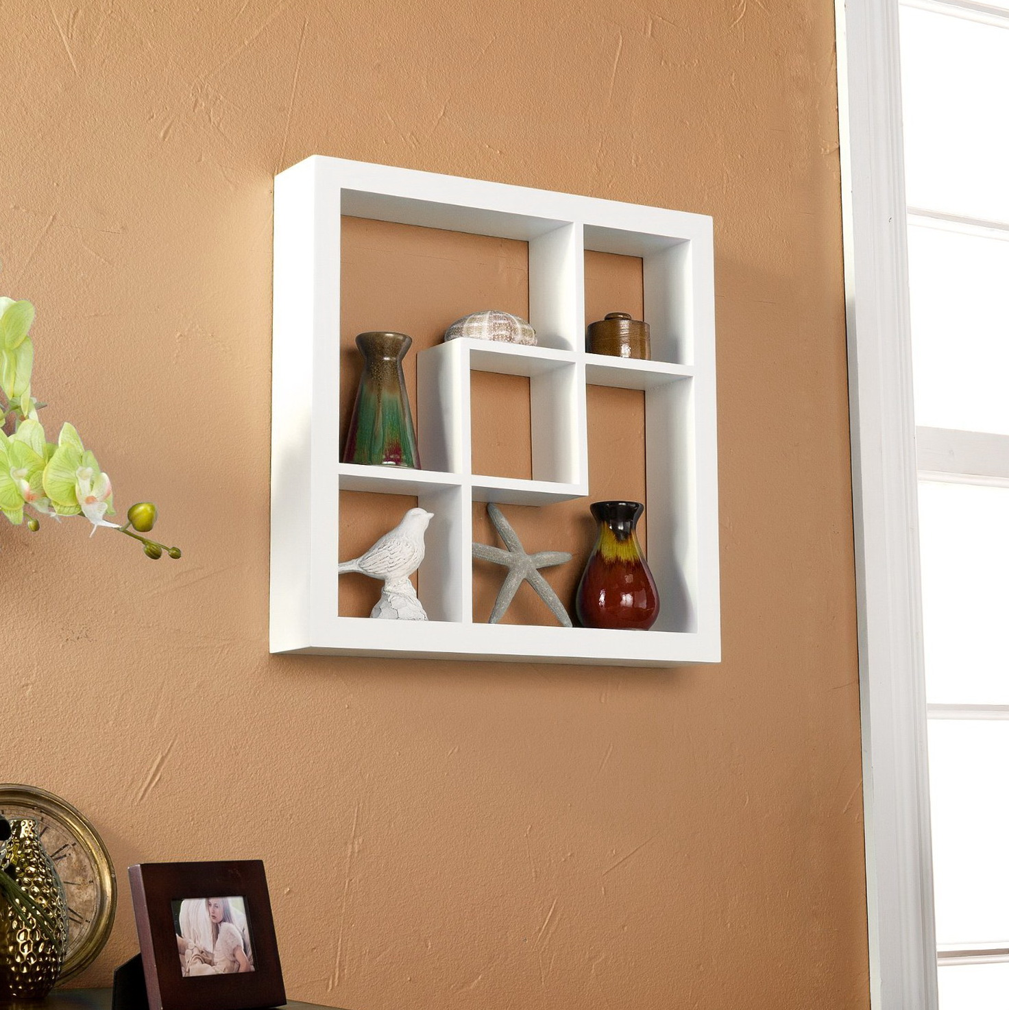 Decorative Cube Wall Shelves