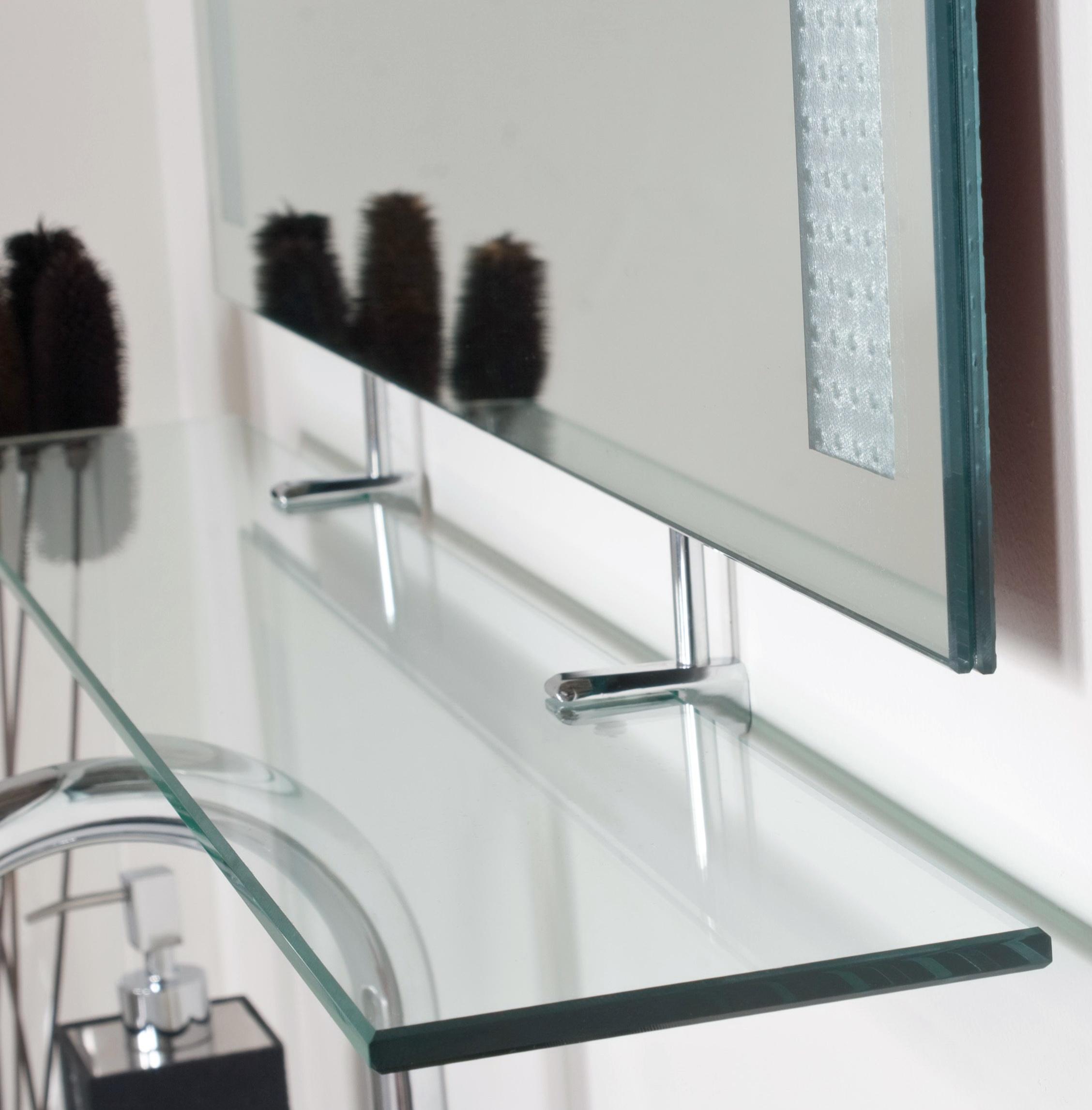Decorative Wall Mirror With Shelf