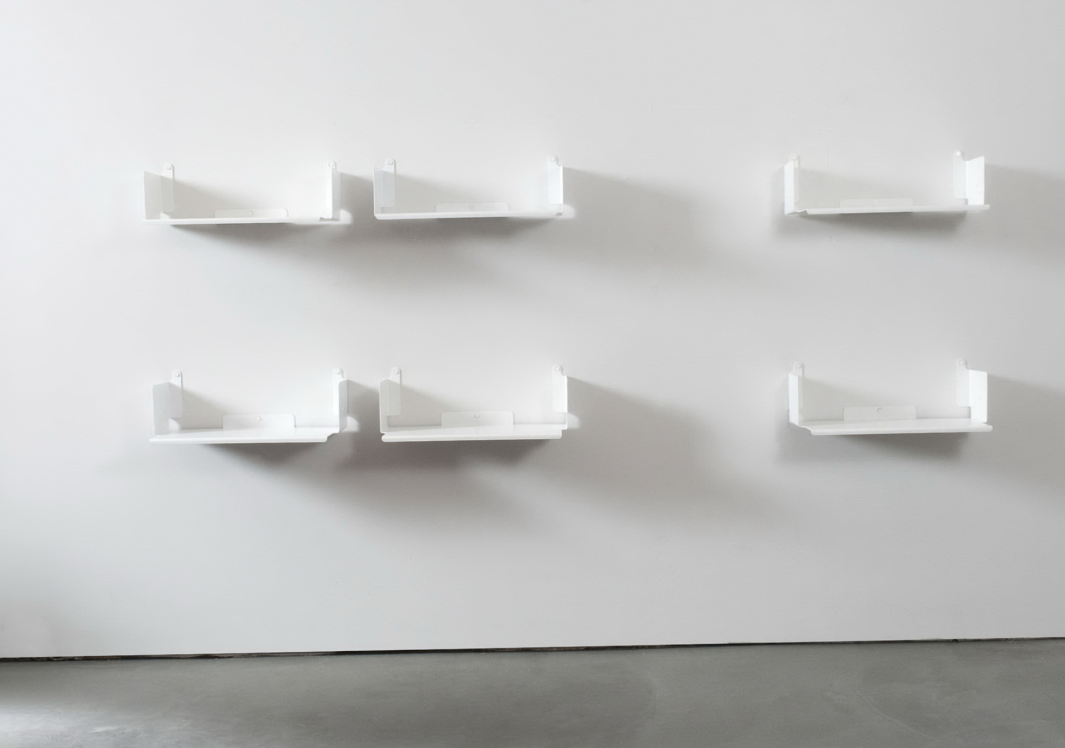 Decorative White Wall Shelves