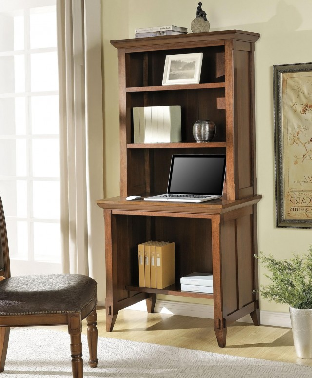 Desk With Bookcase Hutch