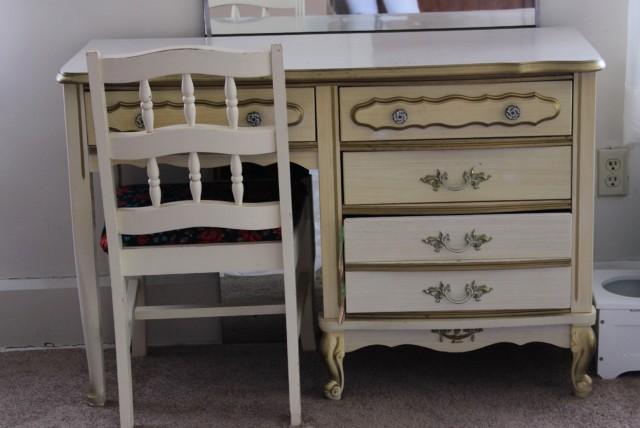 Diy Antique White Dresser