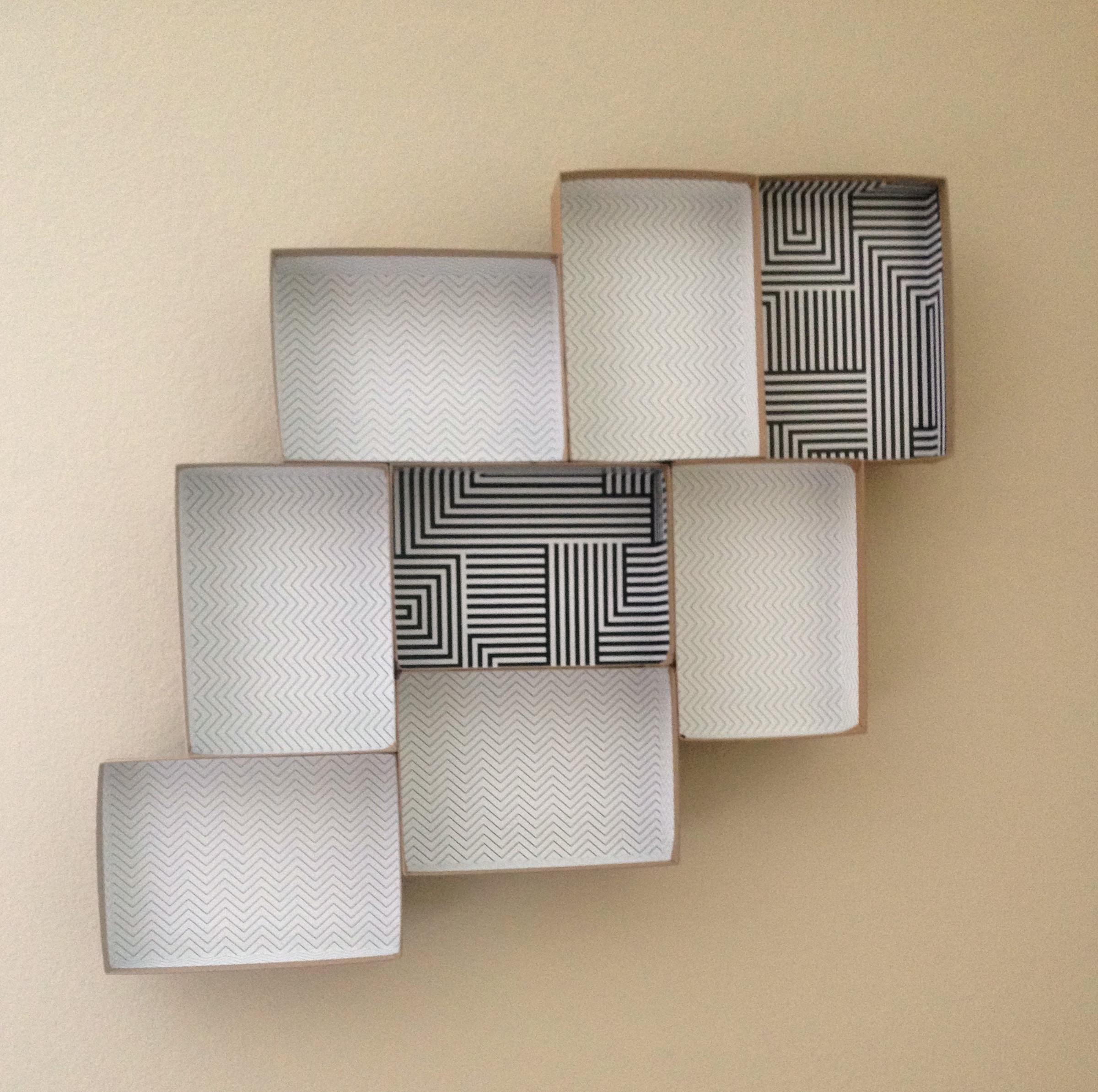 Diy Box Wall Shelves