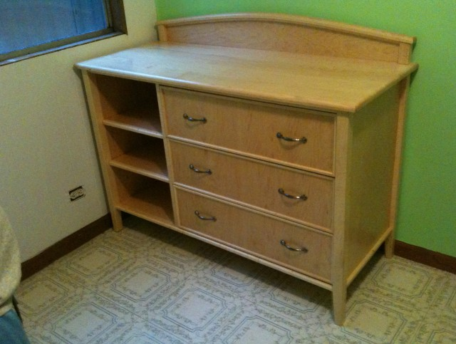 Diy Changing Table Dresser