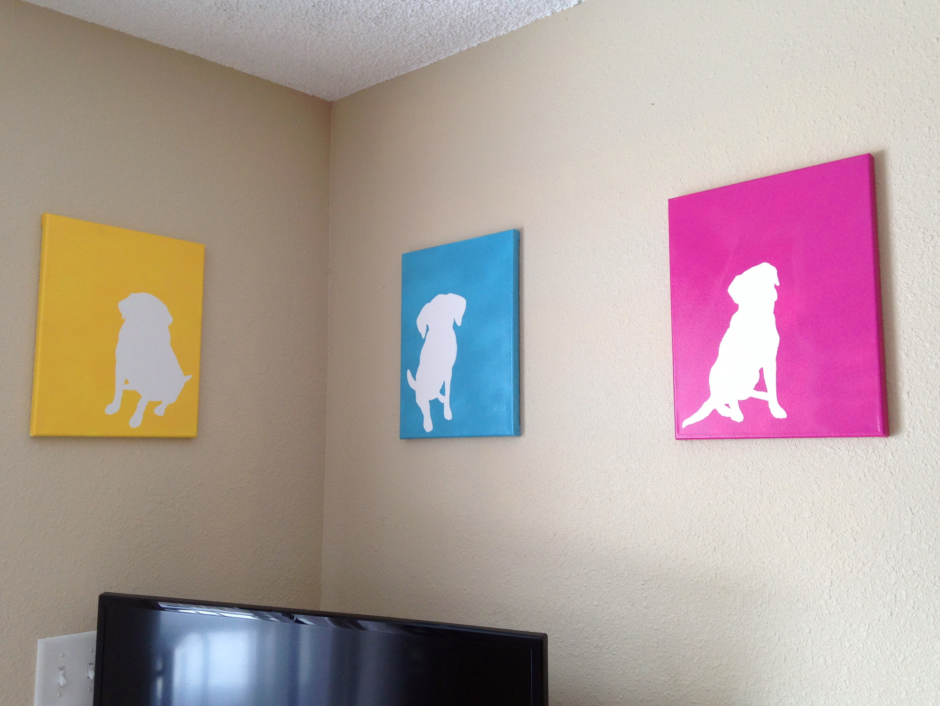 Diy Dog Wall Art