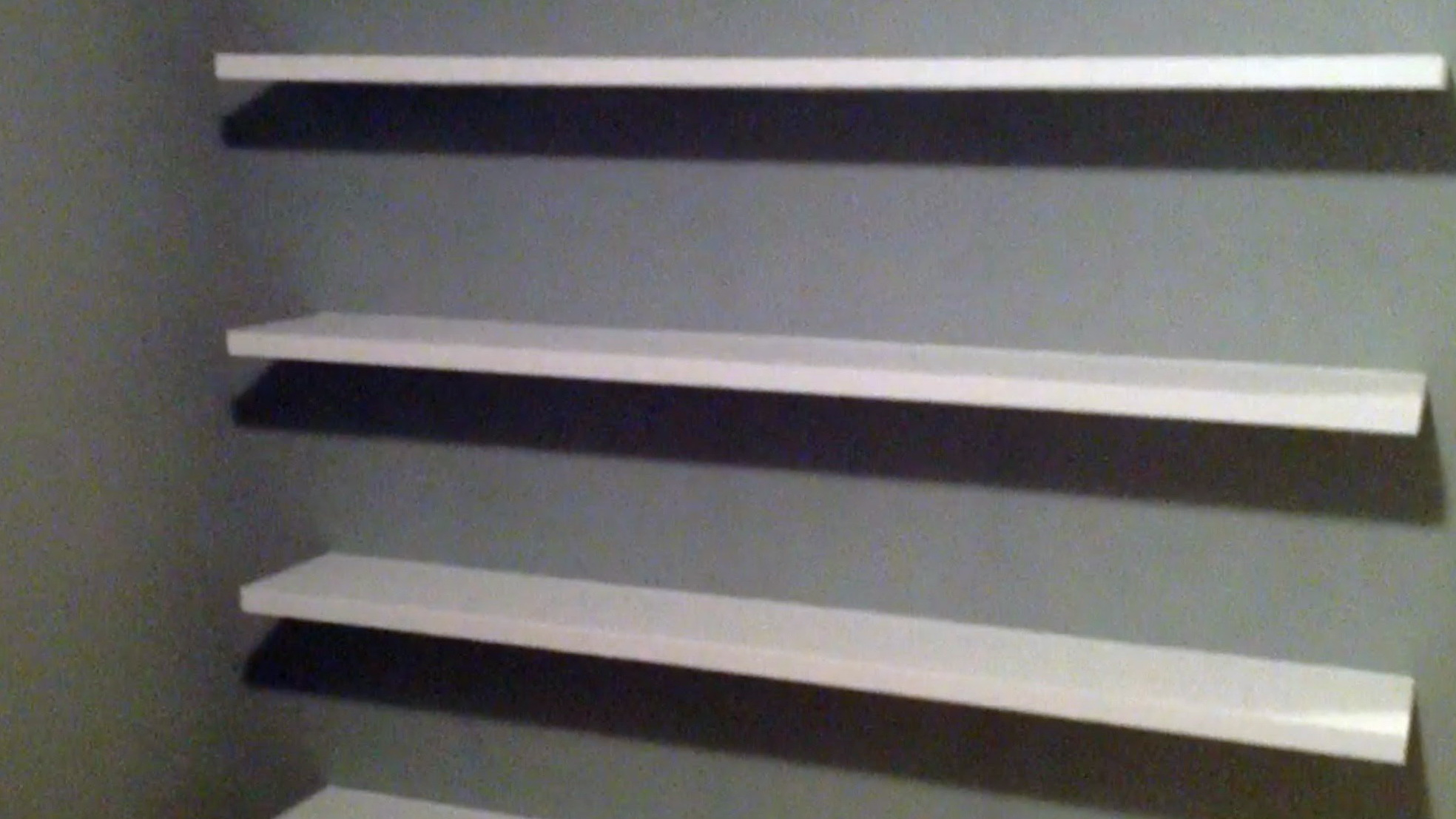 Diy Garage Wall Shelves