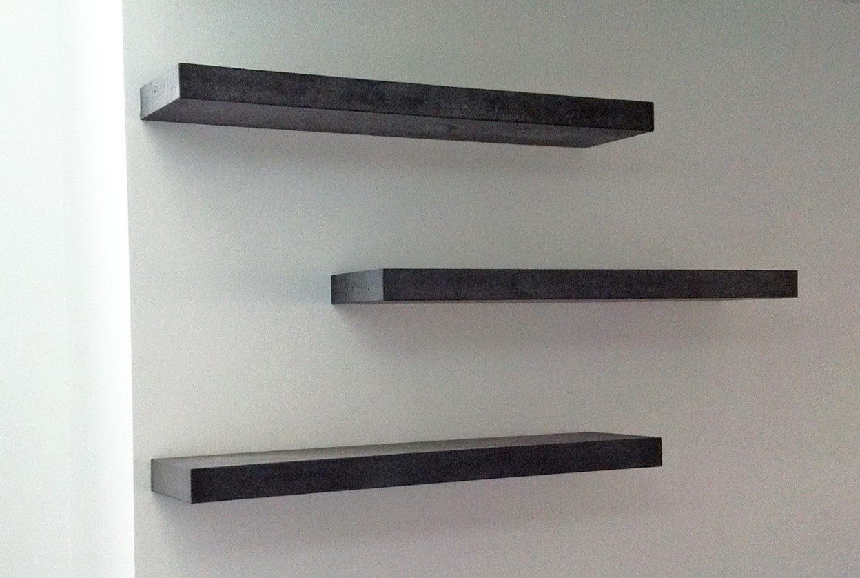 Diy Industrial Wall Shelves