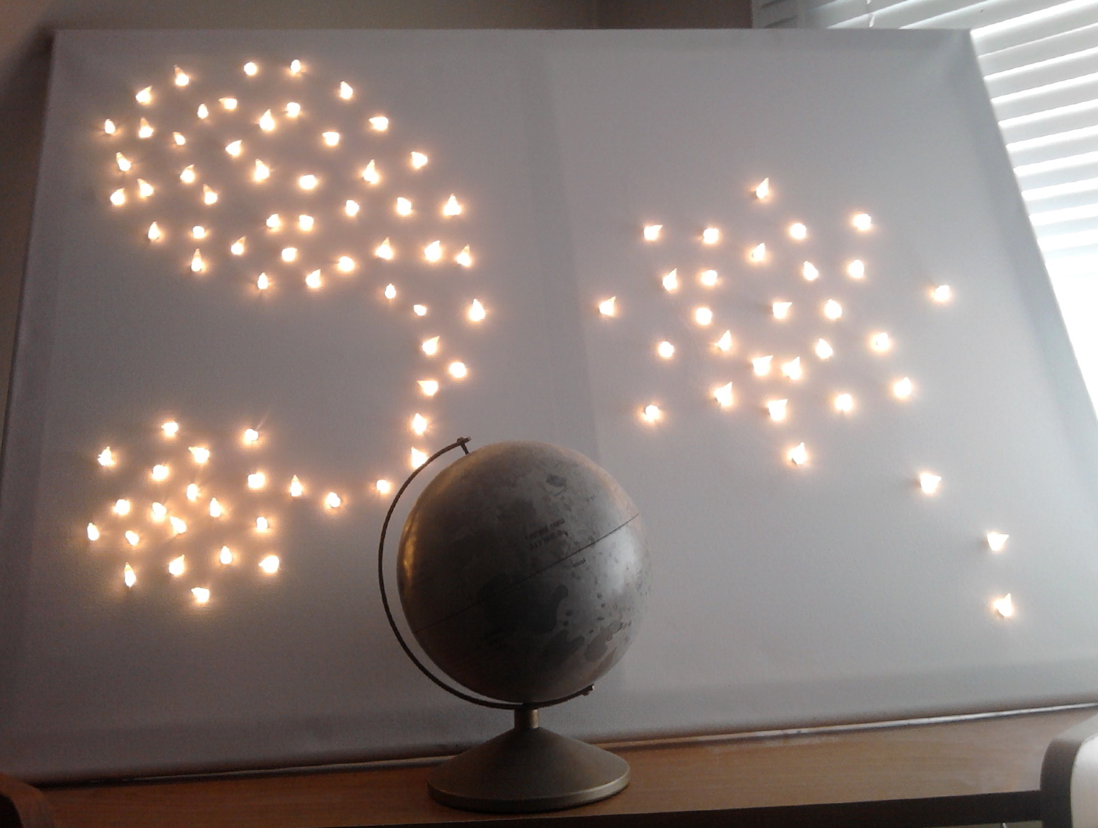 Diy Led Wall Art