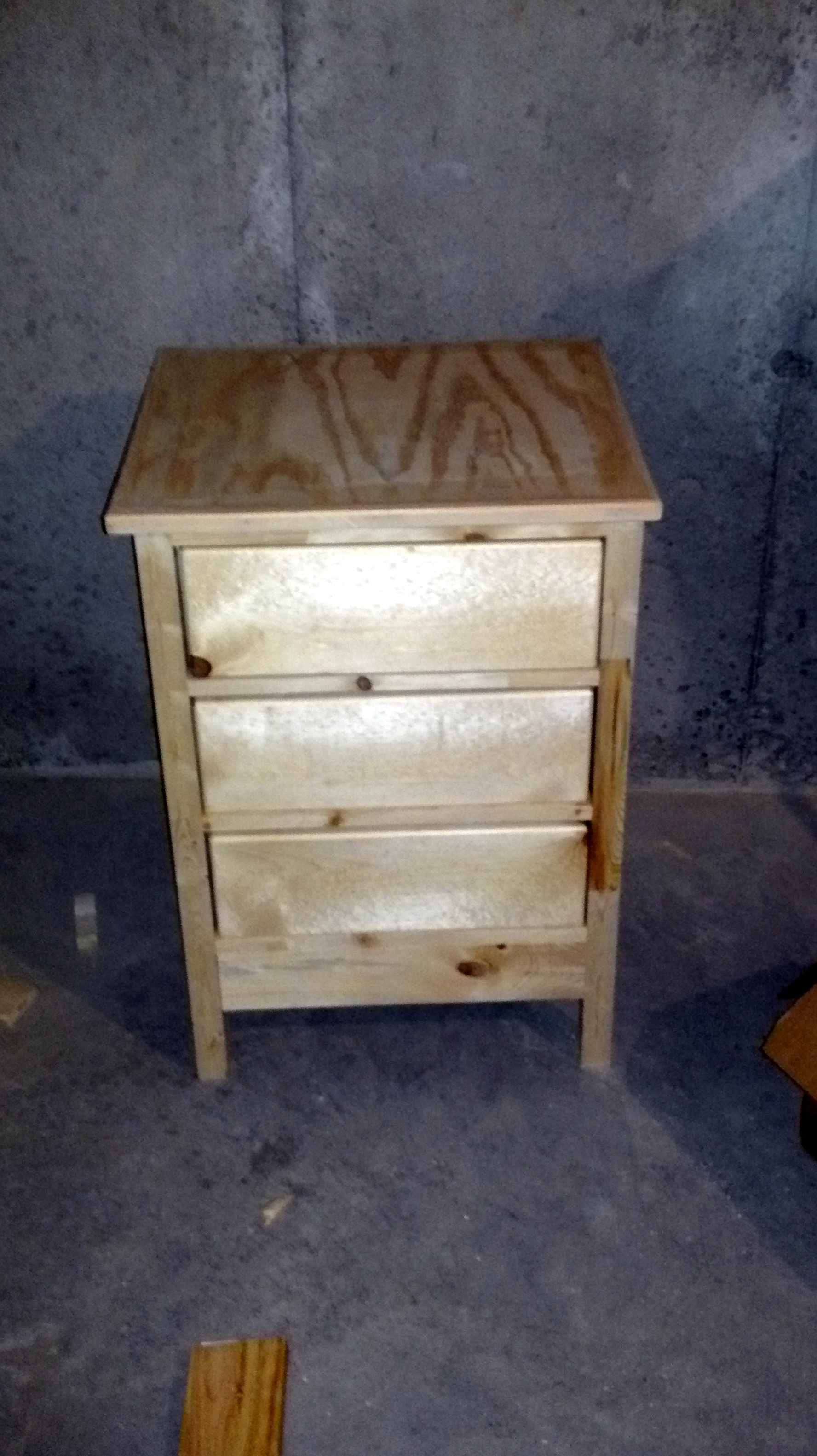 Diy Reclaimed Wood Nightstand