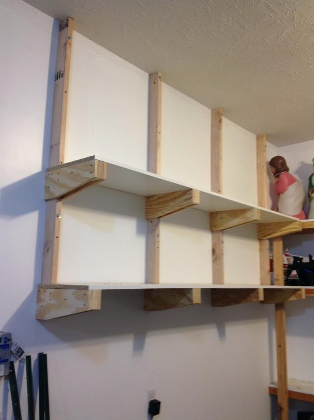 Diy Wall Storage Shelves