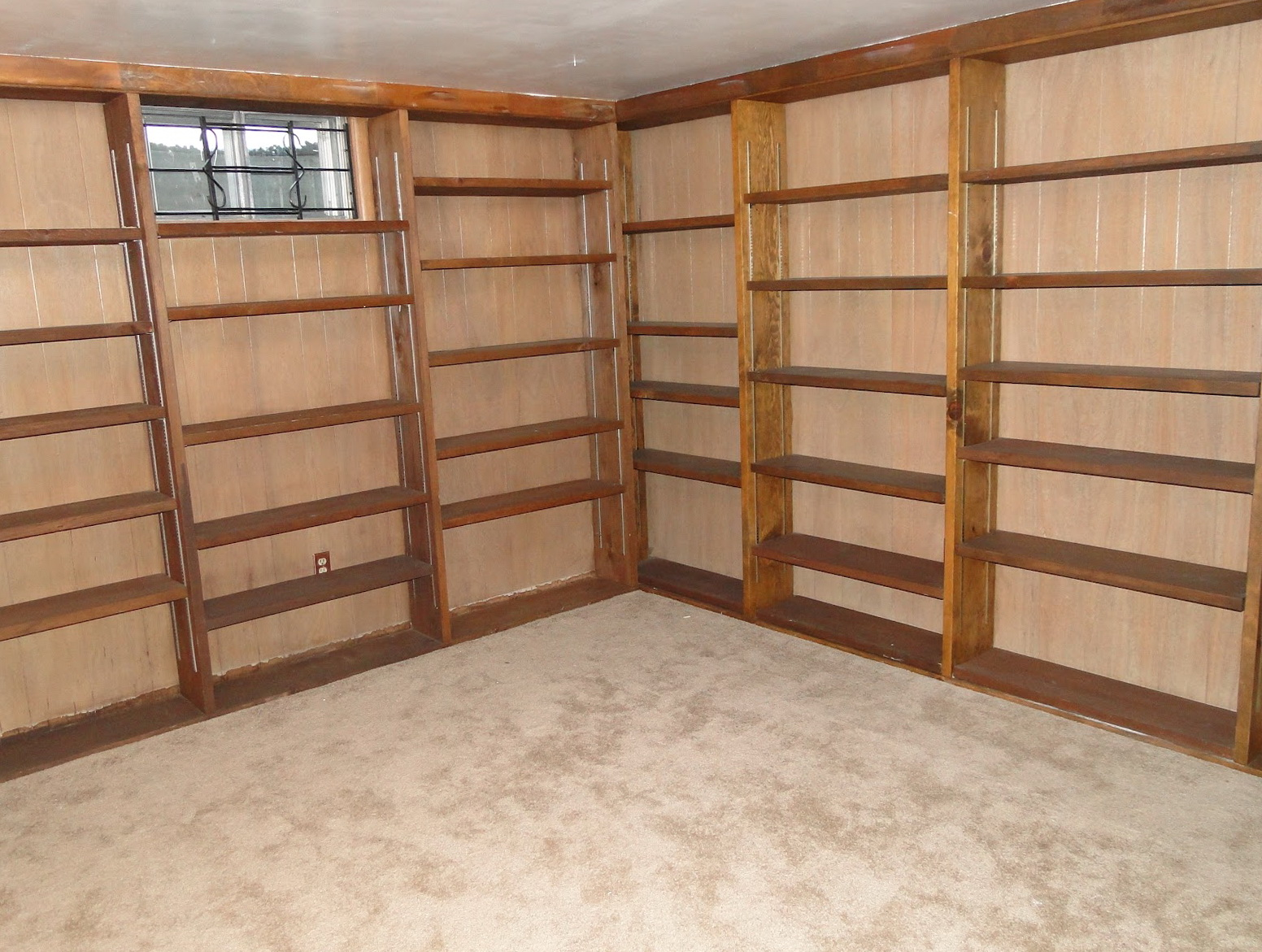 Do It Yourself Garage Wall Shelves