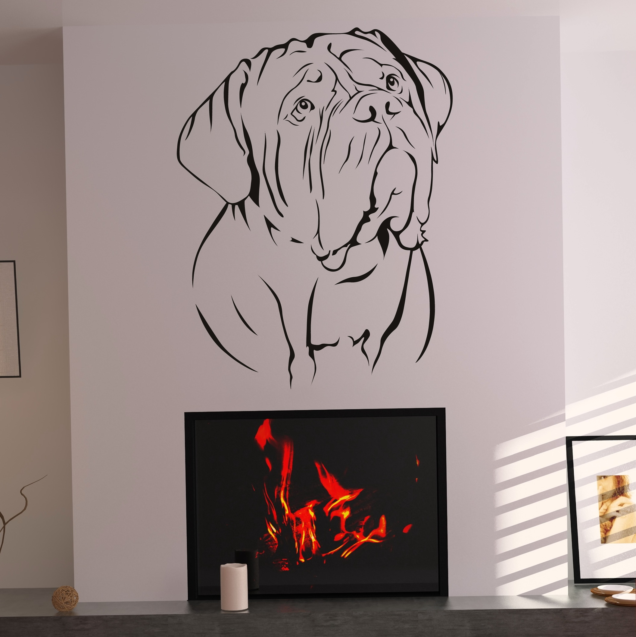 Dog Wall Art Decor