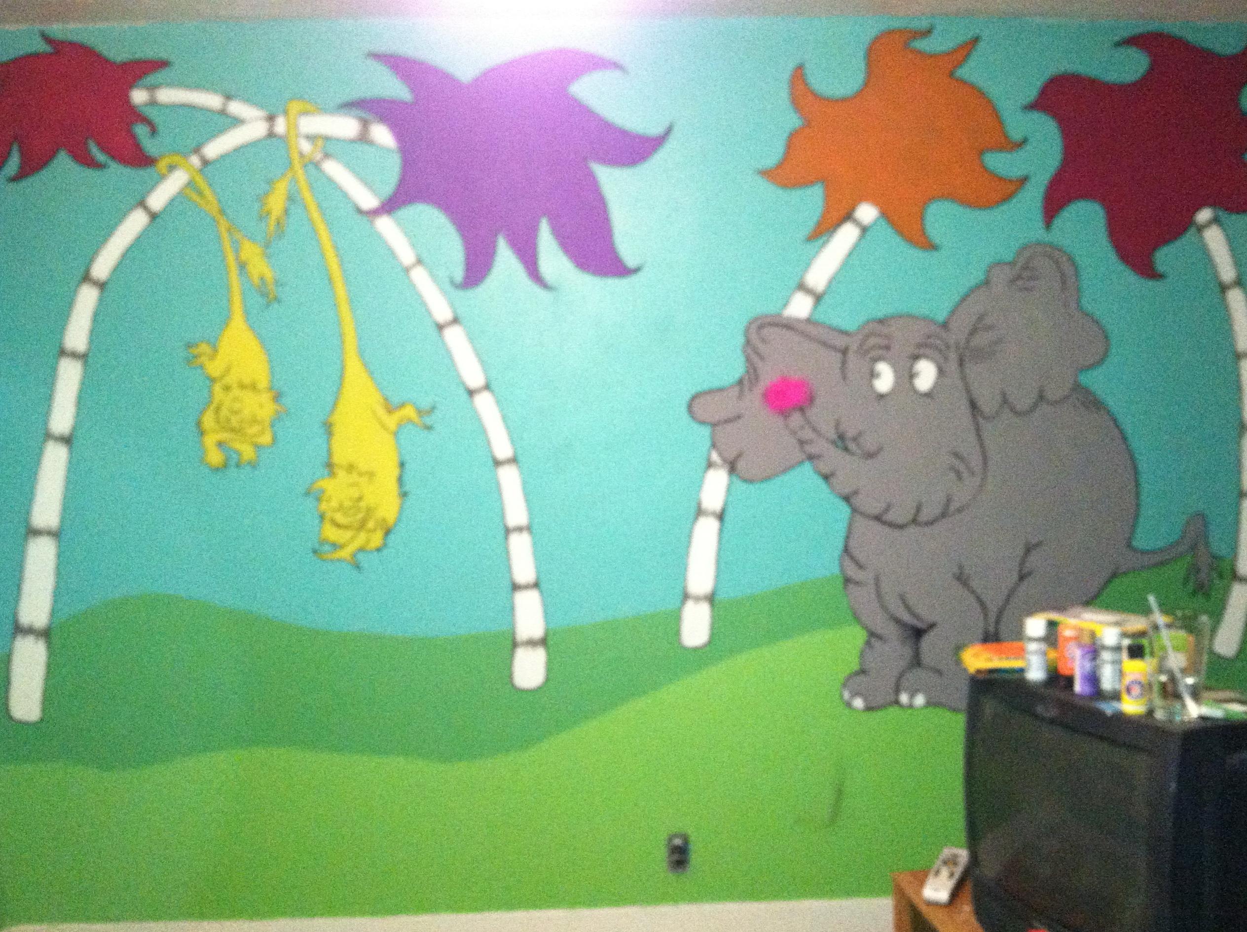 Dr Seuss Wall Art Decor