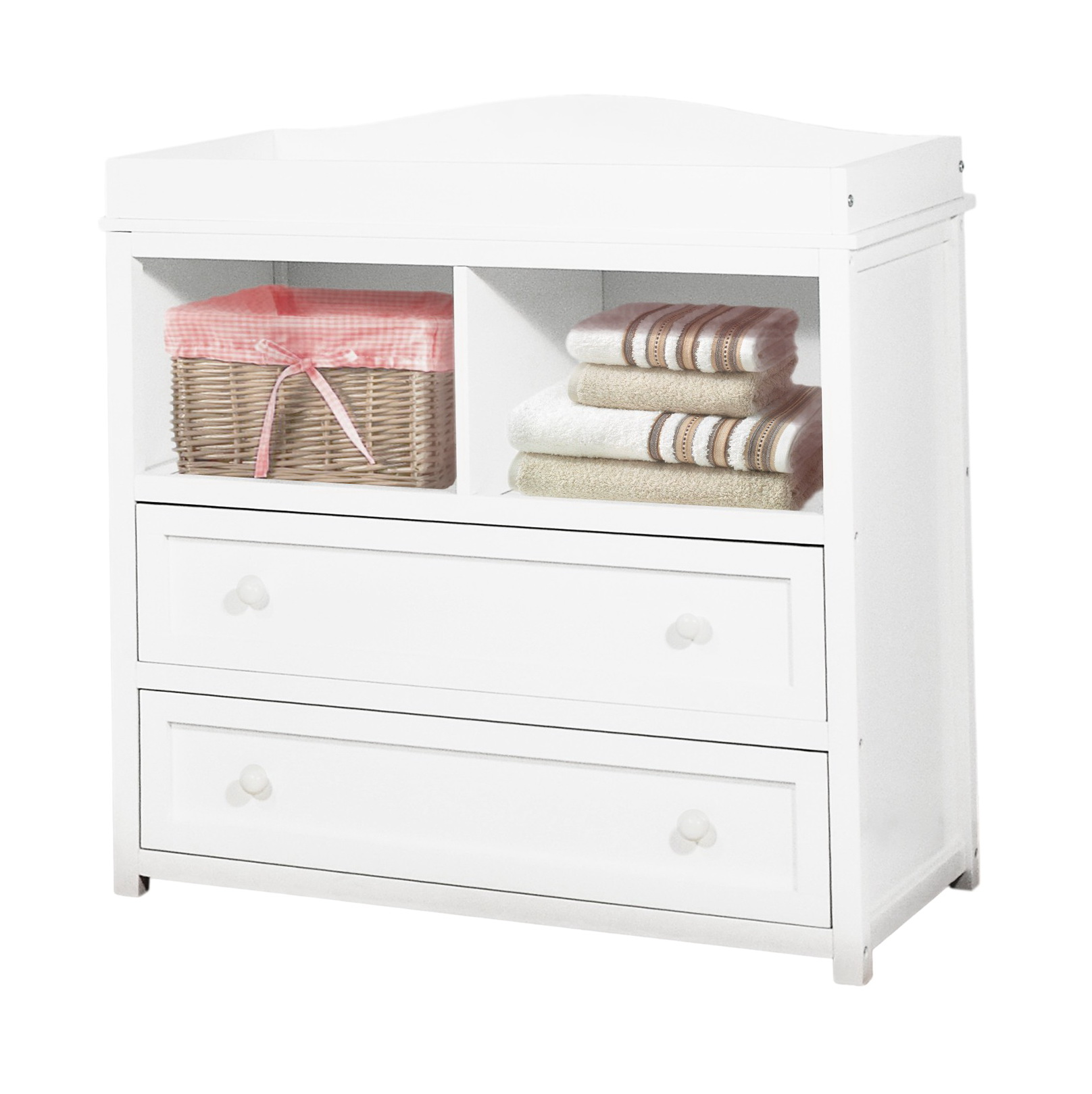 Dresser Changing Table Combo White