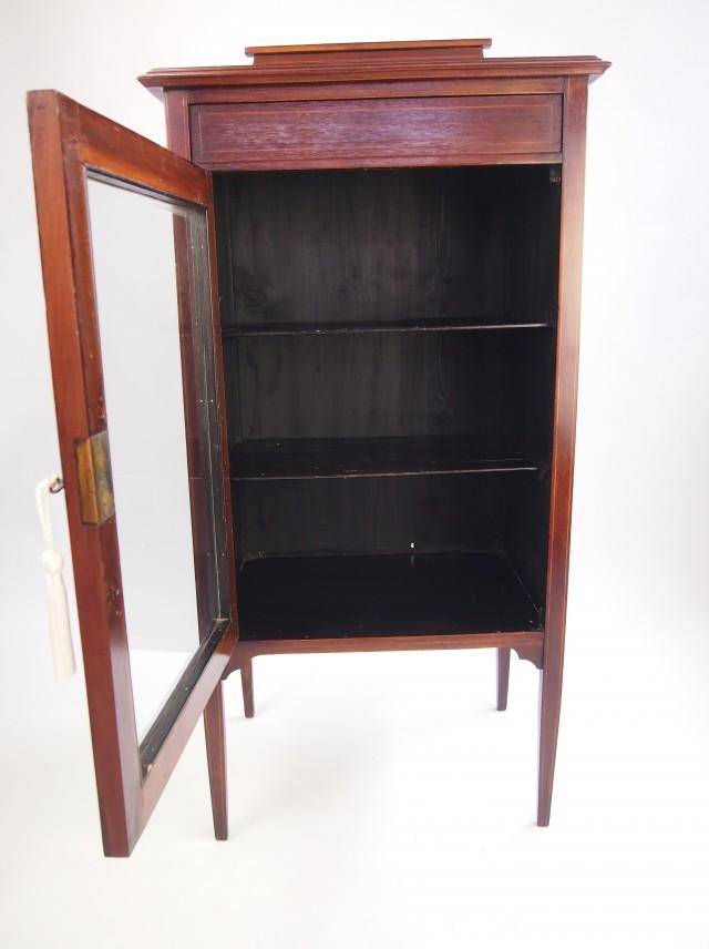 Edwardian Glass Door Bookcase