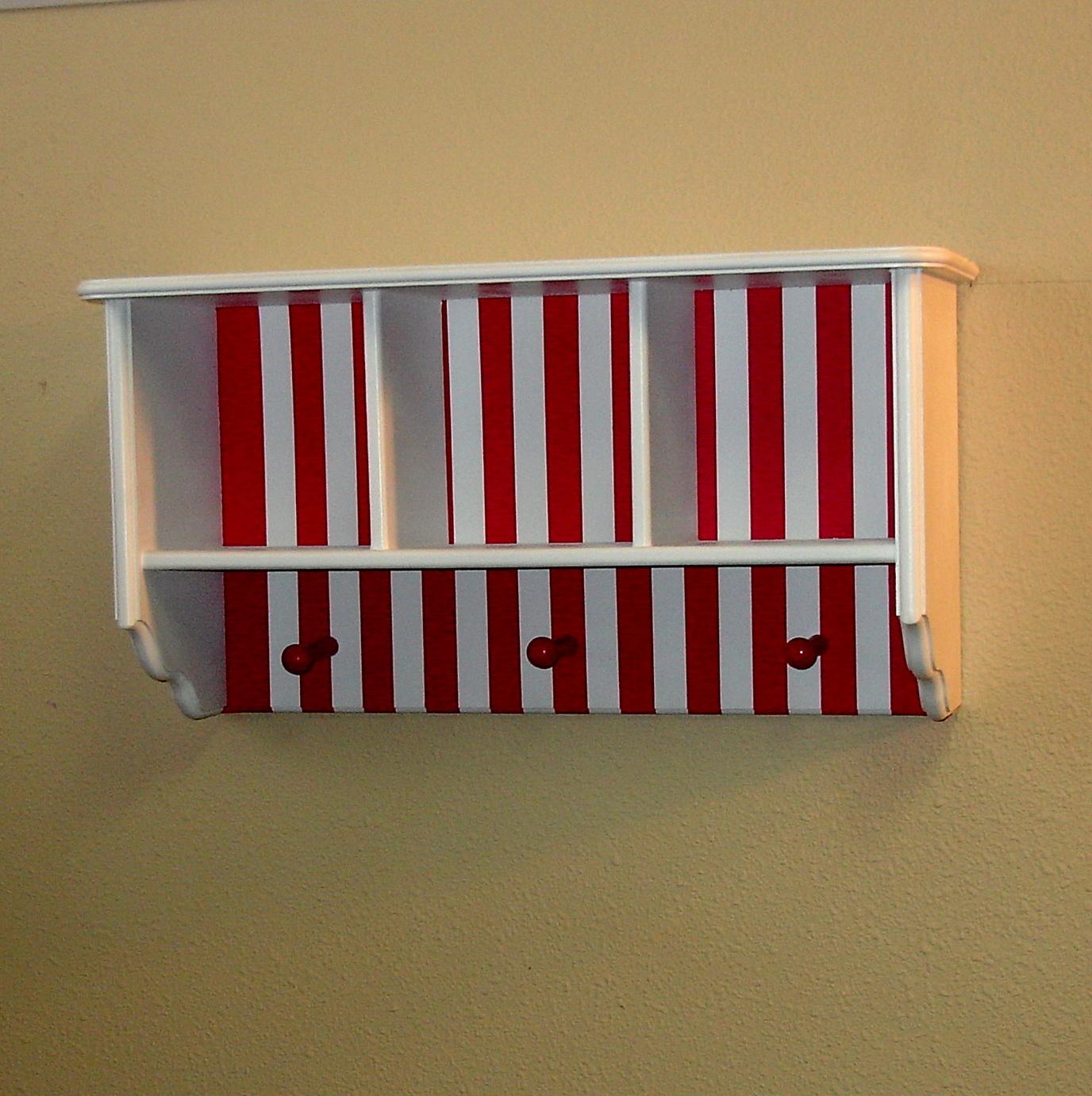 Espresso Wall Shelves For Nursery