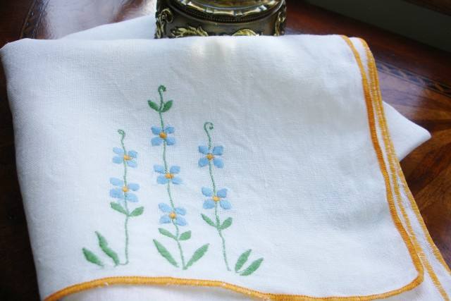 Fine Table Linens French