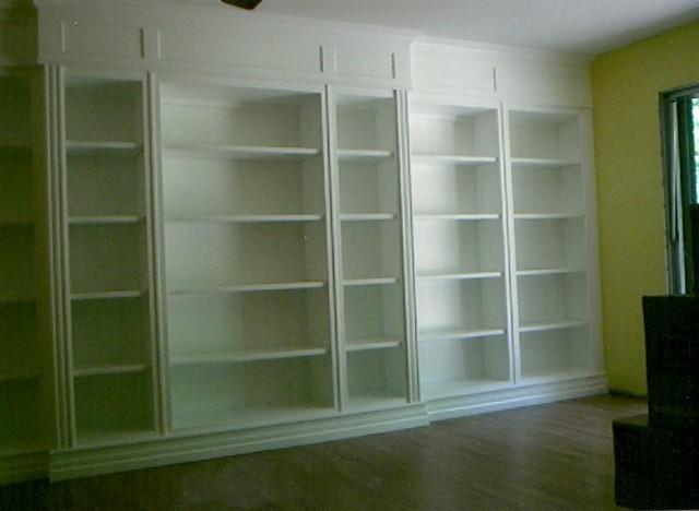 Floor To Ceiling Bookcase Design