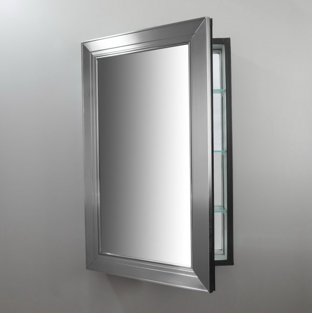 Framed Mirror Medicine Cabinet