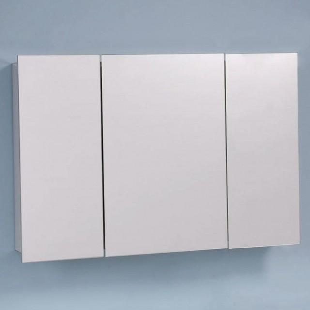 Frameless Mirrored Medicine Cabinet