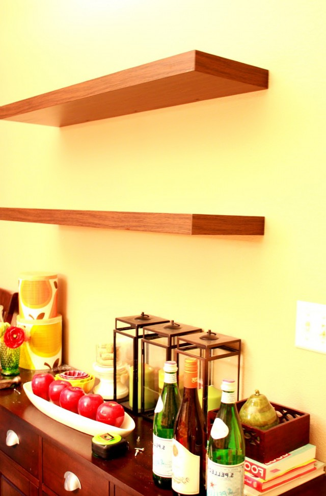 Free Hanging Wall Shelves