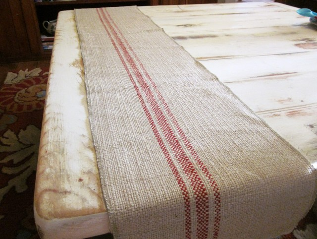 French Linen Table Runner