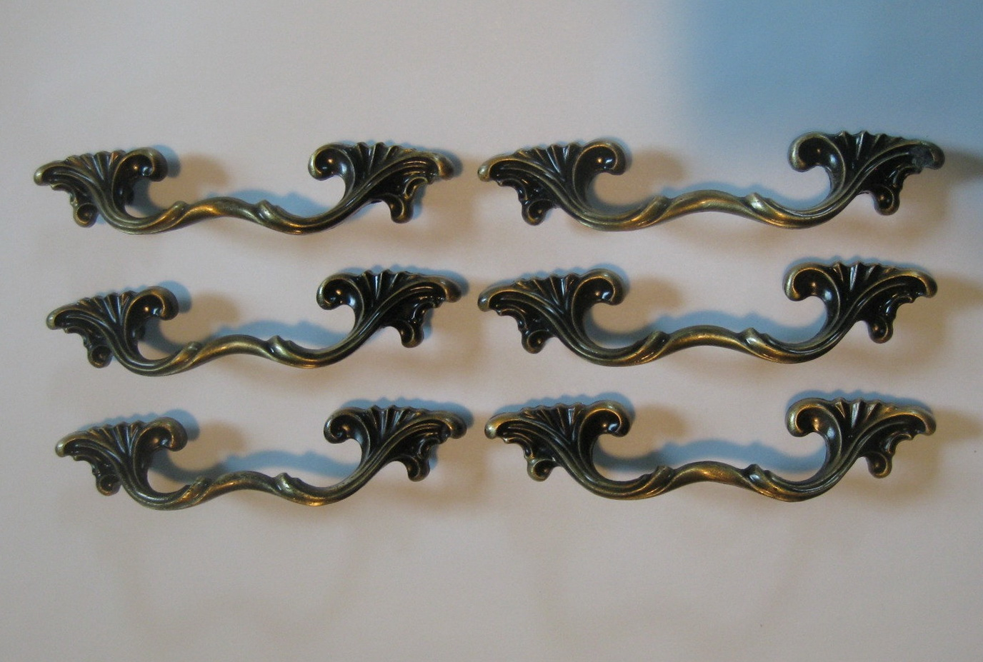 French Provincial Dresser Drawer Pulls