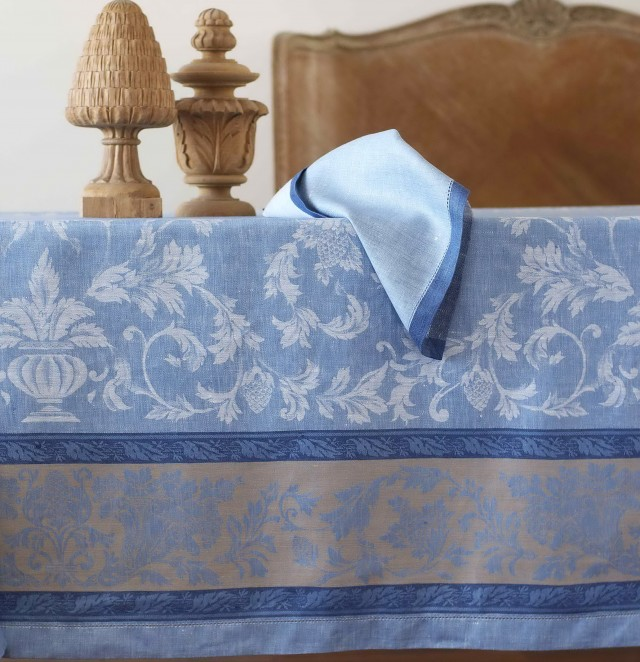 French Table Linens Jacquard