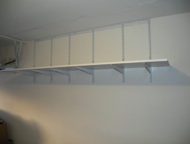 Garage Wall Shelves Ideas