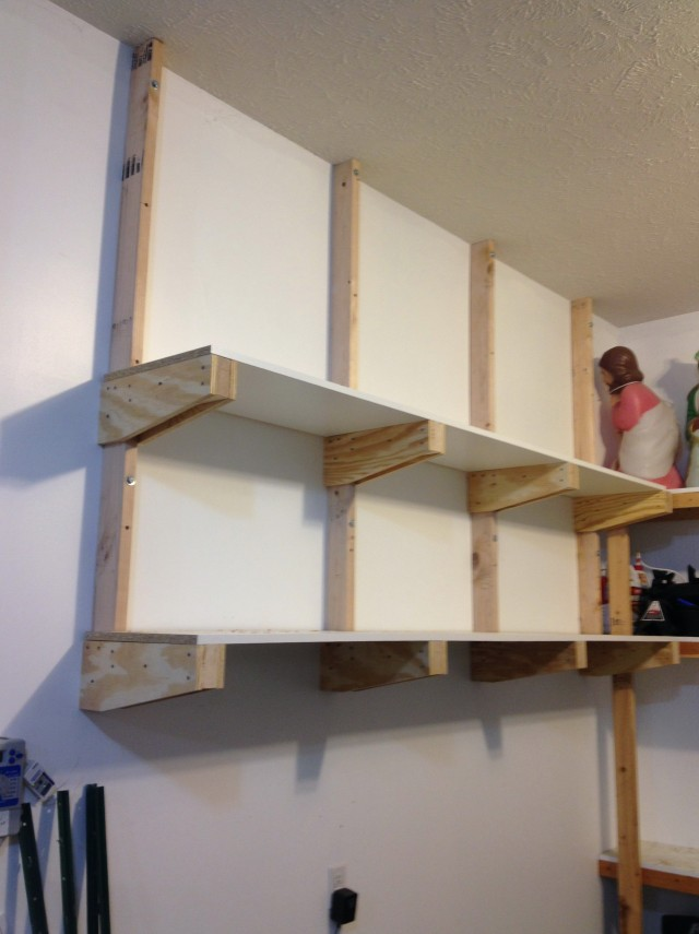 Garage Wall Shelving Brackets