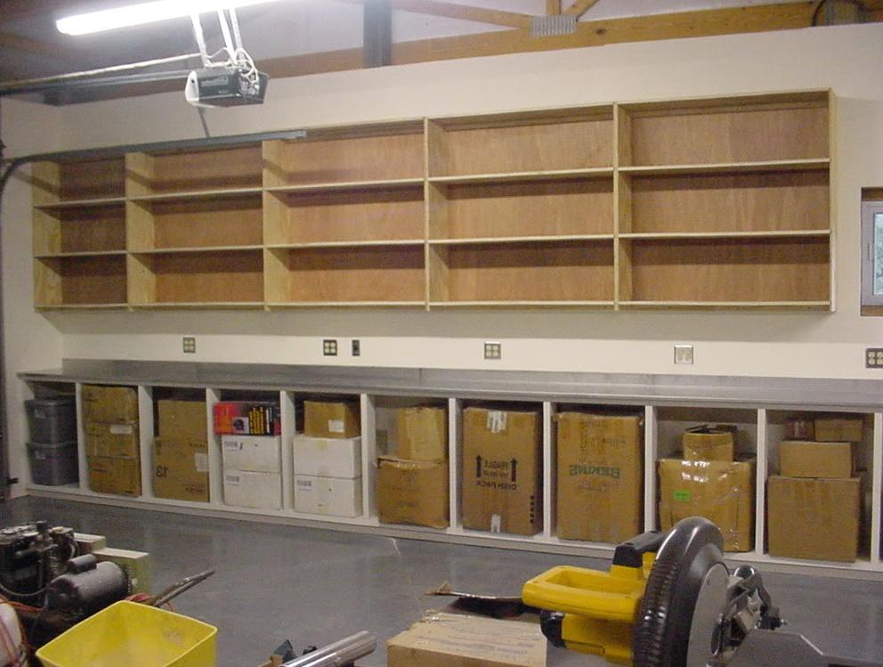 Garage Wall Storage Shelves